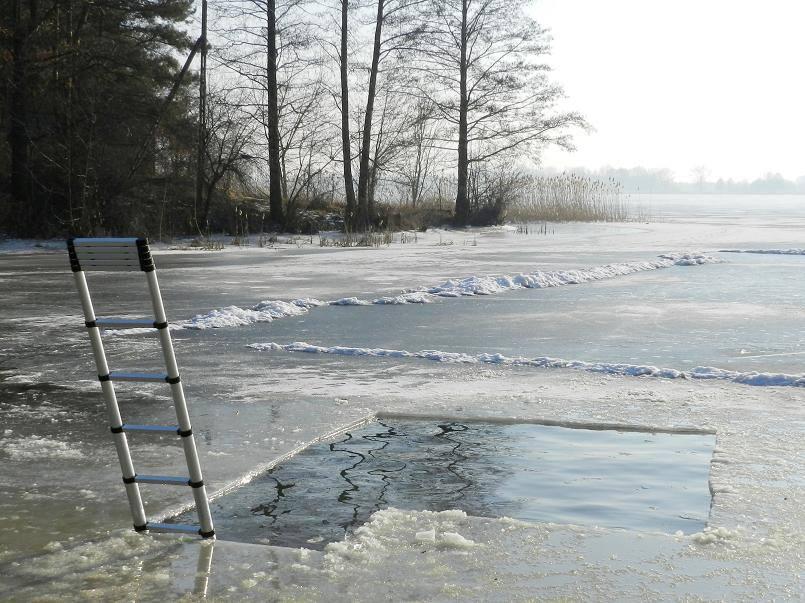 Morsowisko - zimna woda - zdrowia doda