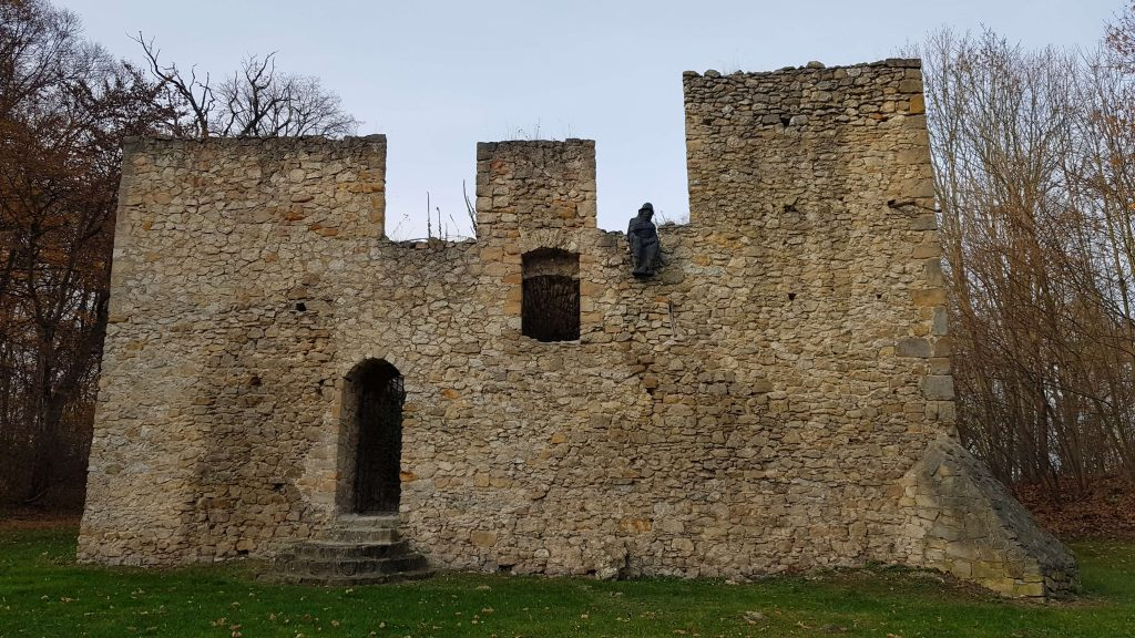 Ruiny zamków odkryte po latach