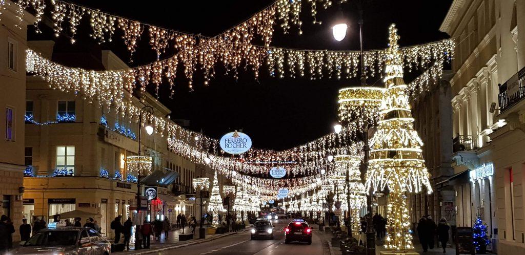 Warszawskie świąteczne iluminacje