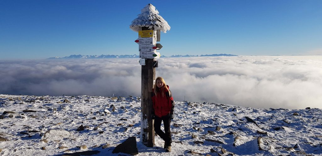 Babia Góra w zimowej odsłonie