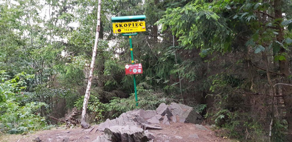 Skopiec i Góry Kaczawskie