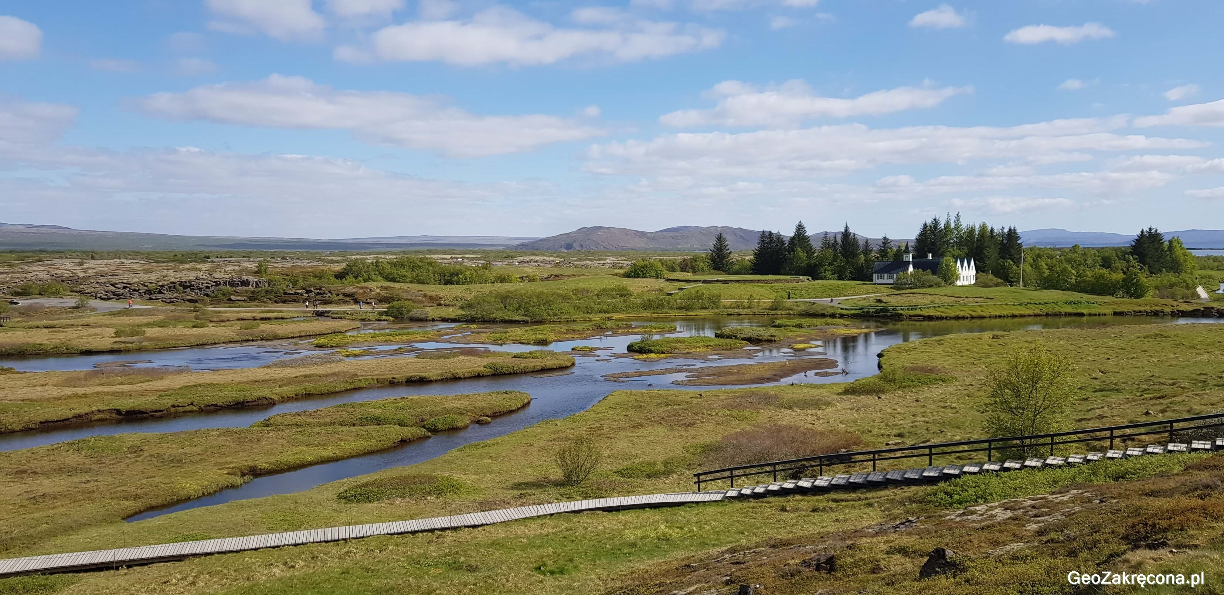 Islandia kraina wodospadów i gejzerów - Golden Circle