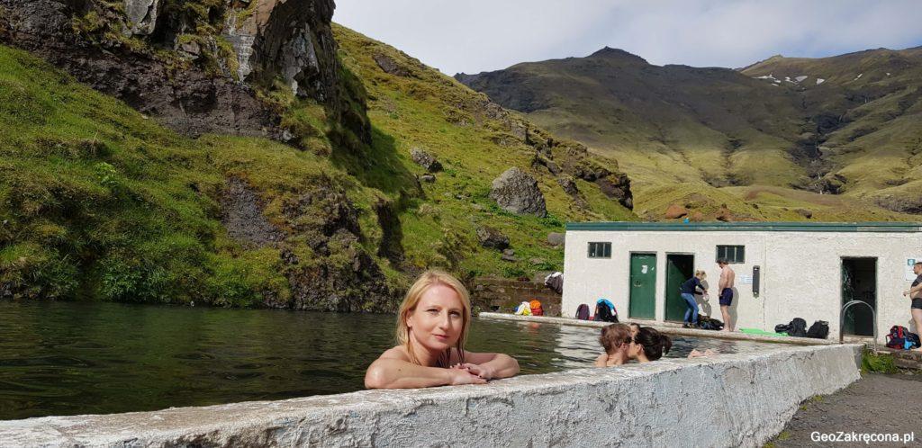 Islandia gorące źródła