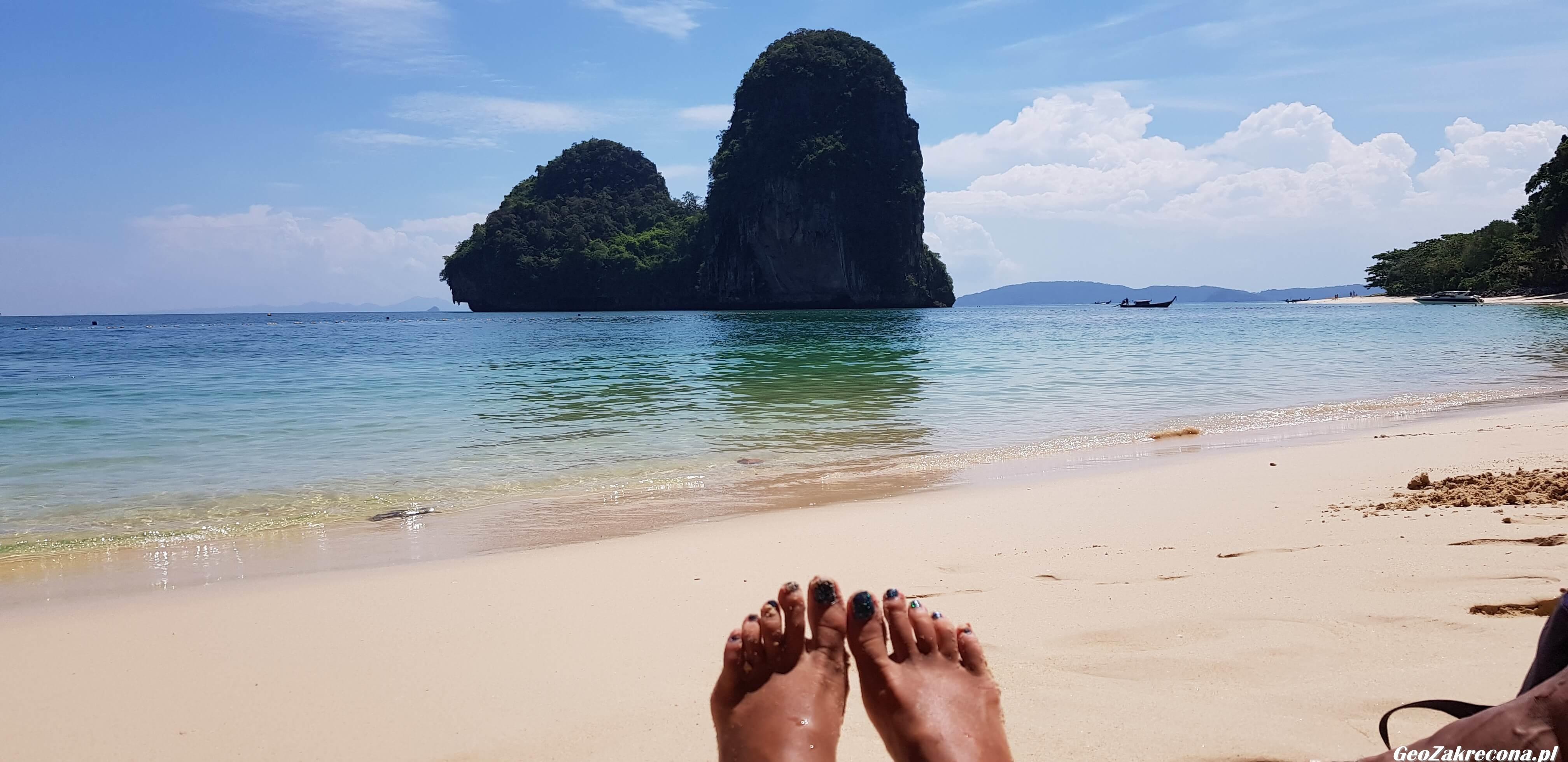 Railay Beach - rewelacyjne miejsce w Tajlandii