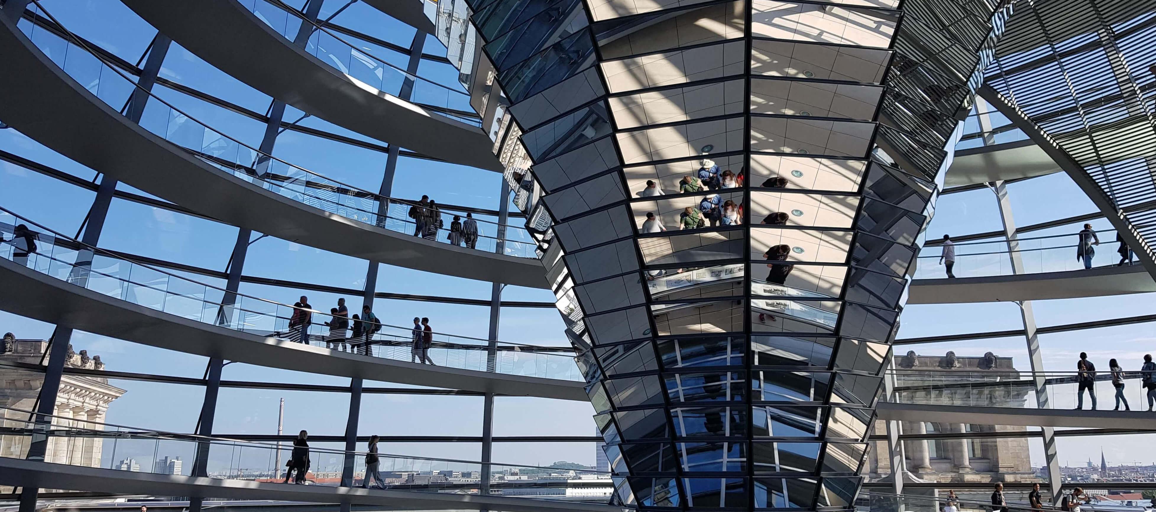 Reichstag - jedna z perełek Berlina
