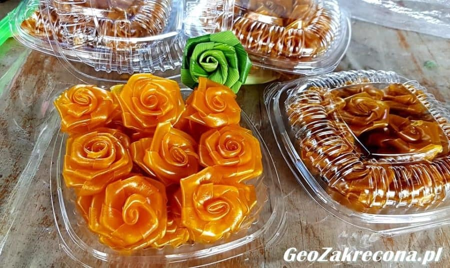 Kwiaty z mango